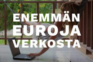 Enemmän euroja verkosta -verkkokurssi